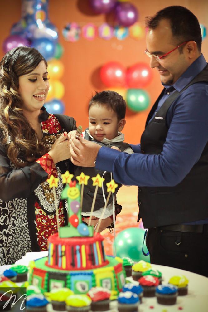 Dubai events photography - first birthday
