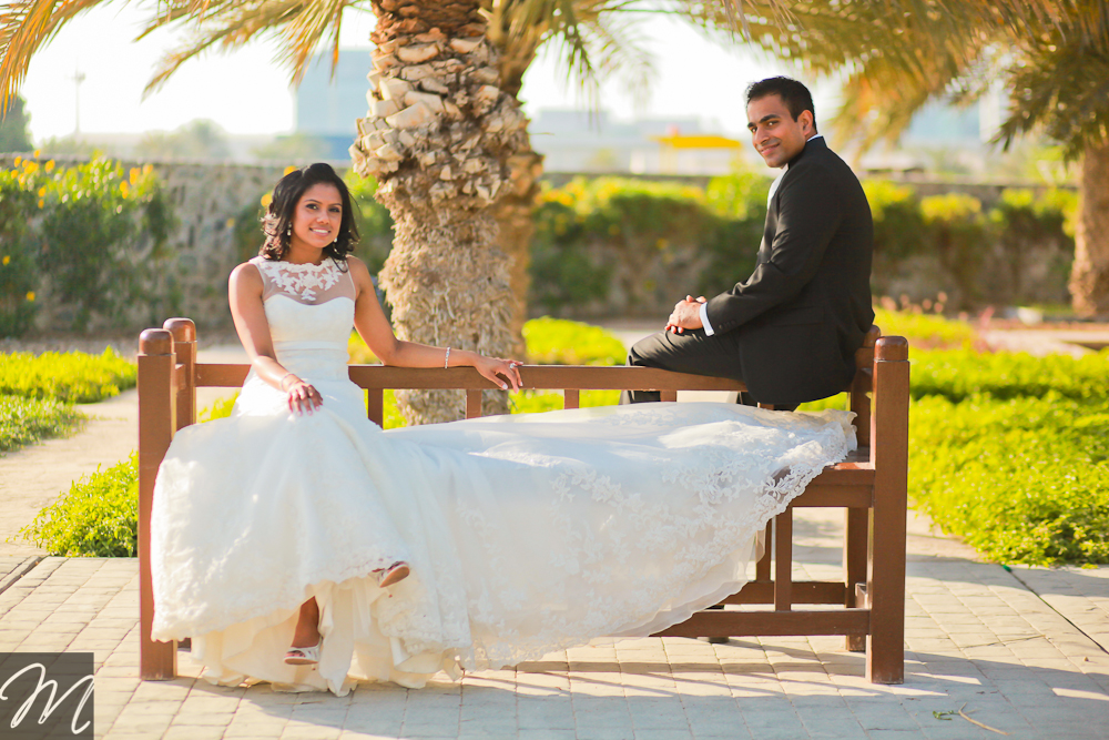 Trash the dress post wedding Abu Dhabi photography