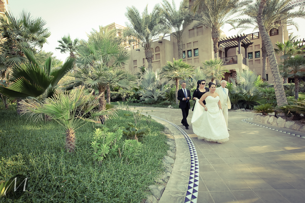 Dubai beach wedding photography