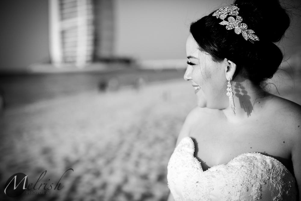 Dubai beach wedding photography