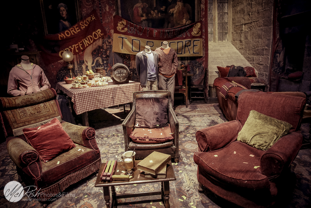 The Gryffindor common room