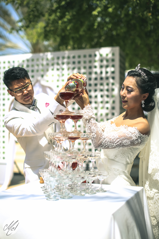 Chinese wedding in Dubai